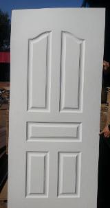 HDF white primer 5 panels door skin