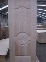 Natural mdf hdf door skin for interior doors