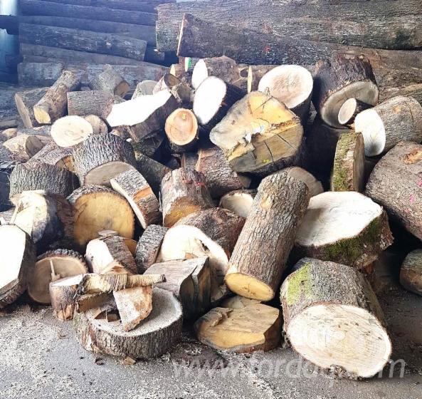 Eiche-Brennholz