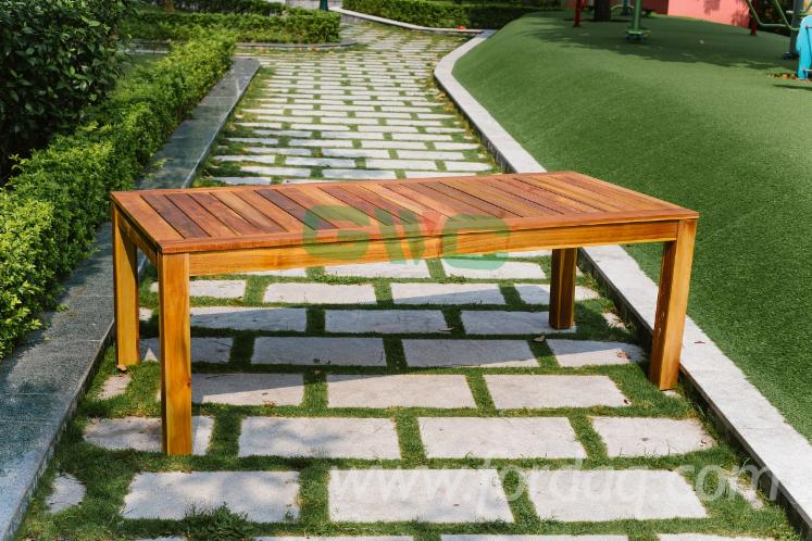 Vietnam Wooden Bench Set/2 Pieces Outdoor Bench Dining Setting