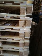 模压栈板木块, 全新
