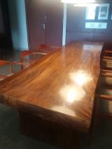 null - Dining Set Table Solid India Walnut Wood