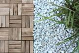 Exterior Decking  Acacia - Acacia wood decking tiles/ wooden flooring for outdoor, garden and patio