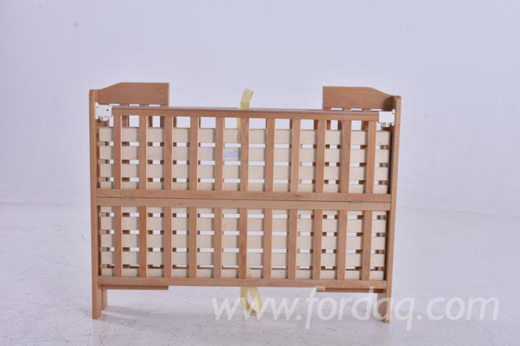 Beech Foldable Baby Cribs