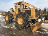 Forest & Harvesting Equipment - 1989 Caterpillar 518 Cable Skidder
