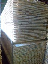 Venta Madera Canteada Abeto - Madera Blanca, Pino Silvestre - Madera Roja Tratamiento Térmico 17 mm