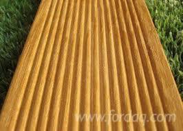 Wholesale Angelim Amargoso Exterior Decking Anti-Slip Decking (1 Side) Italy