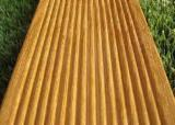Find best timber supplies on Fordaq - TAVELLA GIORGIO E FIGLI SNC - Angelim Amargoso Exterior Decking Anti-Slip Decking (1 Side) Italy
