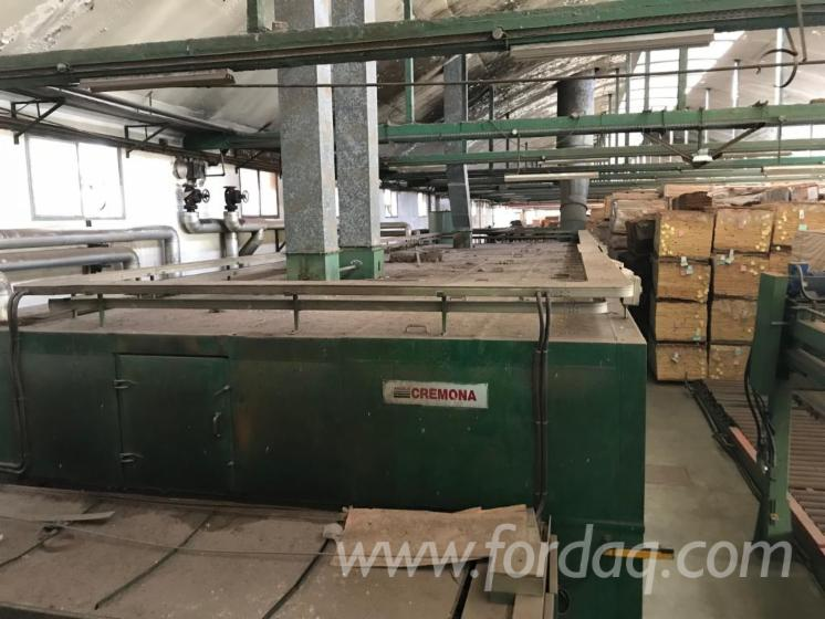 Used Angelo Cremona 2002 Drying, Steaming And Impregnation Of Solid Timber - Other For Sale Italy