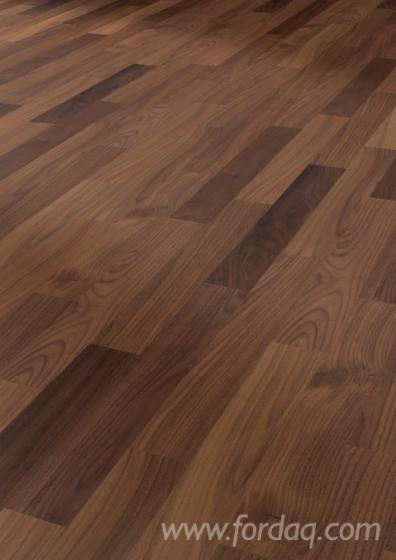 Black Walnut Laminate Flooring, CE, 4.2 mm