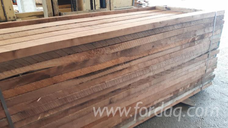Walnut Edged Lumber, F1F, 22 mm