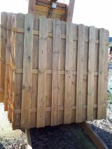 Furniture And Garden Products Demands - Pine - Scots Pine Fences - Screens