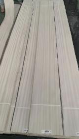 批发木皮 - 采购或销售木皮复合板 - 天然木皮单板, 切四等分,平坦