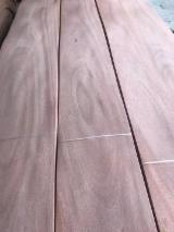 Wholesale Wood Veneer Sheets - Buy Or Sell Composite Veneer Panels - 0.5mm Thickness Mahogany Wood veneer Crown cut and Quarter promotion