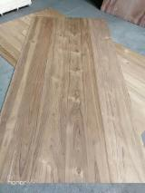 Grade AA natural teak plywood with poplar / eucalyptus core for door usage