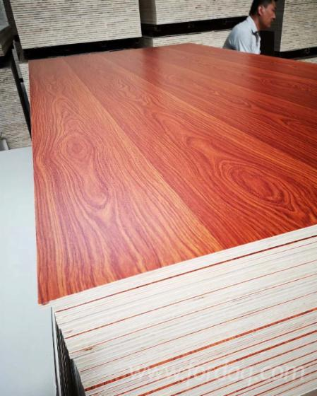 Melamine Paper Faced Laminated Plywood with Combi Core
