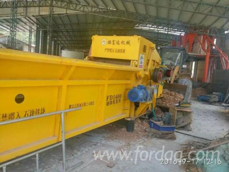 Biomass Wood chipper, wood crusher, wood grinder