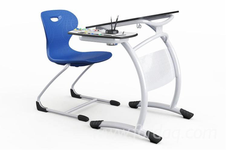 Contemporary Classroom Desks, MDF