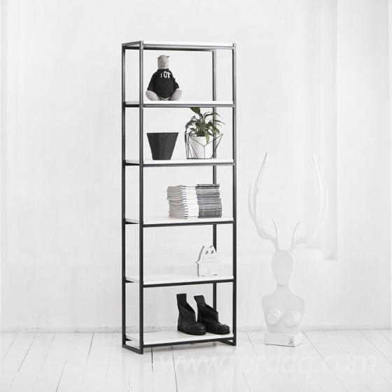 Luciano Maple Shelves