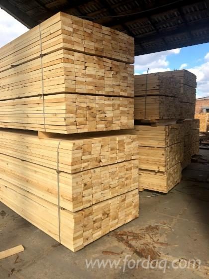 Pine/ Scots Pine Sawn Lumber, 38-40mm