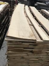 Brown / White Ash Unedged Boards, 27; 34; 41; 45; 54 mm