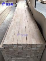 Rubberwood Finger Jointed Solid Panel, 12-60 mm