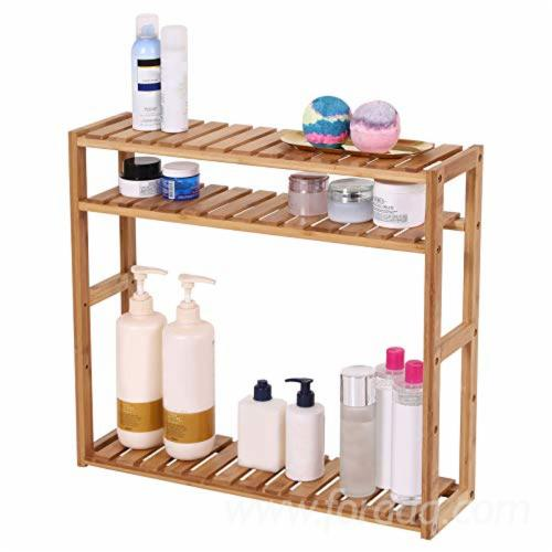 Bathroom-Shelf-3-Tier--Wall-Mount-Shelf-for-Living-Room-Kitchen-Balcony--Adjustable-Free-Standing