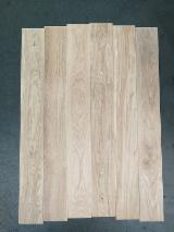 Flooring and Exterior Decking - Oak Parquet One Strip Wide, 10-15mm