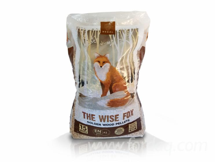 """The Wise Fox"" Wood Pellets, 6mm"
