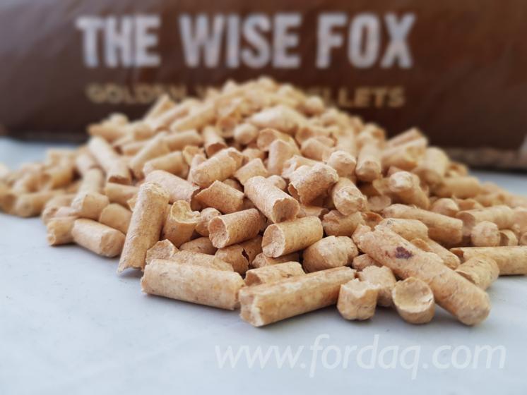 """The Wise Fox""  Granulės de Bois"