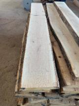 Hardwood  Unedged Timber - Flitches - Boules FSC - FSC White Oak Unedged Timber, 50mm