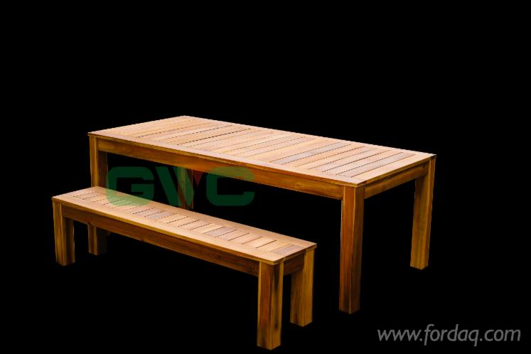 Vietnam-Patio-Wood-BBQ-Table-Set