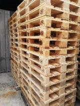 New Euro Pallets Pine/Spruce Woodchip Blocks, 1.2m