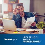 Servicii și Locuri de muncă - Sales Ambassador Romania