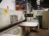 Woodworking Machinery - Used Monguzzi TRL-2L 3200/0L 1989 Veneer Clipper For Sale Spain