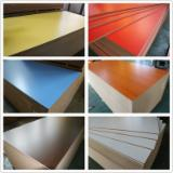 different colors MDF board for furniture manufacturing