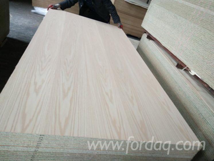 Green Core Natural Wood Veneer Laminated Chipboard