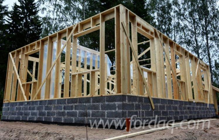 Vierkantblockhaus--Kiefer---F%C3%B6hre