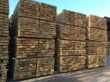 New Oak Sleepers 100 x 200 mm