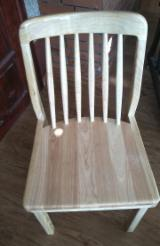 Rubberwood/Acacia Solid Wood Dining Chairs