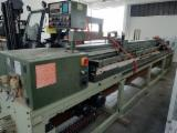 Used SCM Z45 Horizontal Panel Saw with Electronic Pusher, 1989