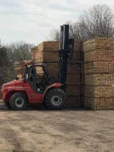 KD Beech Packaging Lumber, 3A, 25-50 mm