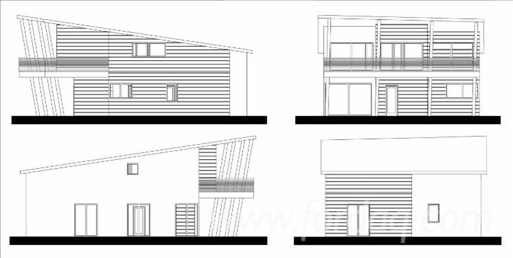 Структурні Панельні Будинки, Ялина - Біла