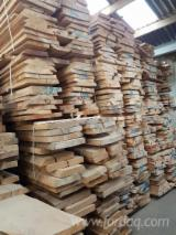KD Beech Half-Edged Boards, 40-80 mm