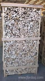 Beech Cleaved Firewood On Pallets