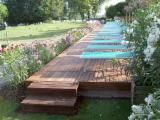 Finden Sie Holzlieferanten auf Fordaq - Barbieri Legnami srl - Tanne , , Gartenholzfliesen