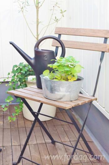 Acacia Bistro Garden Chair, 39x40x79 cm