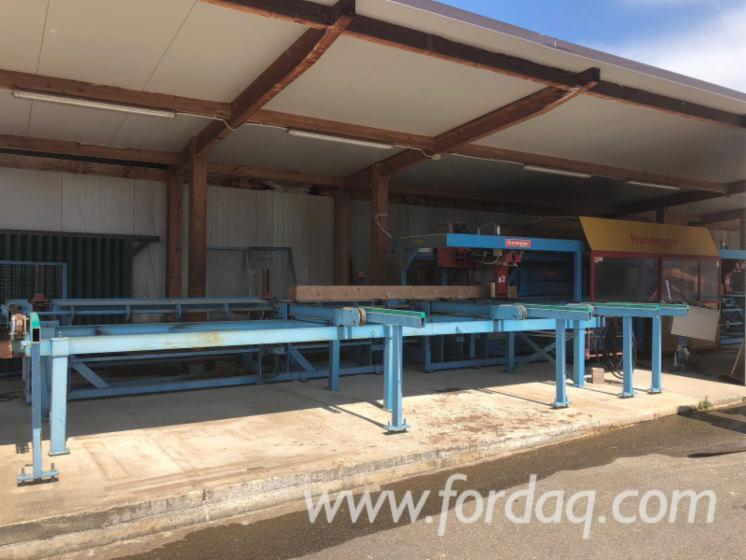 Gebraucht-Hundegger-K2-2000-CNC-Bearbeitungszentren
