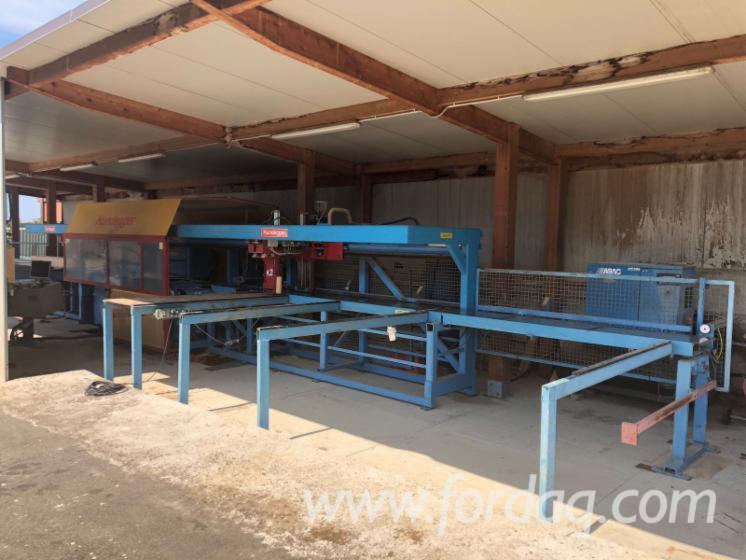 Used Hundegger K2 2000 CNC Machining Center
