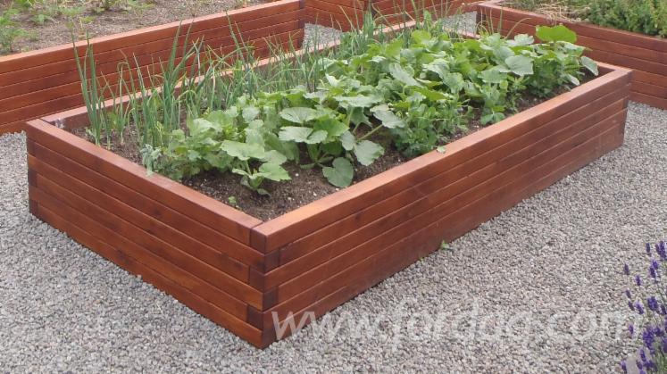 Acacia Robinia Black Locust Plant Boxes/Bed Garden